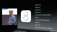 iOS 8 Kompatibilität: Auf diesen iPhones & iPads läuft das Betriebssystem