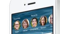 iOS: Persönliche Kontakte in der Multitasking-Ansicht auf dem iPhone ausschalten