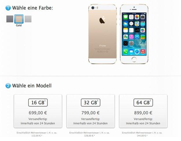 Doppelter Speicher, halber Aufpreis – Apples neue Preisstaffelung?