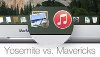 "OS X Yosemite vs. Mavericks: Apple killt das ""Vorschau-Kind"" (Icon-Vergleich)"