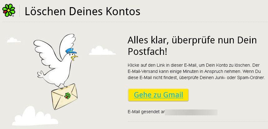 Account Löschen Link icq account löschen lokal und im giga