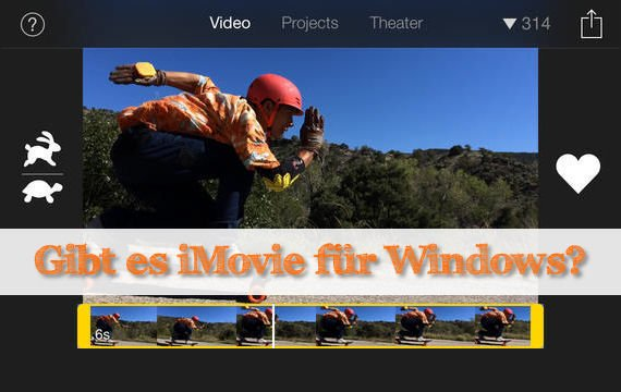 Gibt es eine iMovie Windows-Version?