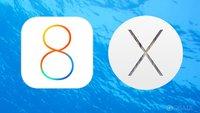 iOS 8 Beta 2 und neue OS X Yosemite-Vorschau zum Download verfügbar