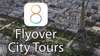 Versteckt in iOS 8 Beta 2: Virtuelle Stadt-Rundflüge in Apples Karten-App