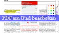 Auf dem iPad PDF-Dateien bearbeiten - Die besten Apps