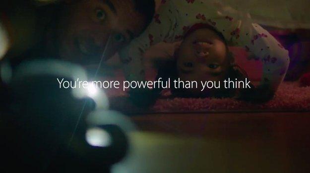 iPhone 5s: Neuer Werbespot mit Apps für Eltern