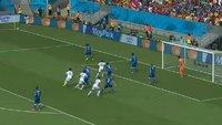 Italien - Uruguay Zusammenfassung: Der Biss von Suarez, das Tor im Video