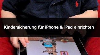 Kindersicherung für iPhone & iPad einrichten (Anleitung)