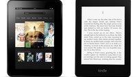 Kindle Fire HD 7.0 (32 GB) und Kindle Paperwhite 3G: Amazon-Tablet und eReader aktuell für je 99 Euro [Deal]