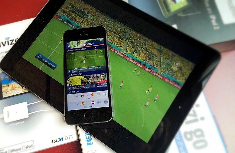 WM 2014: Livestream auf iPhone & iPad legal sehen
