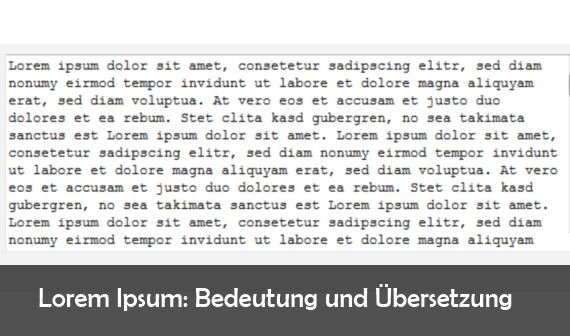 91353d47ba2e Lorem ipsum dolor sit amet  Übersetzung und Bedeutung
