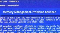Memory Management Problem: Windows Bluescreen