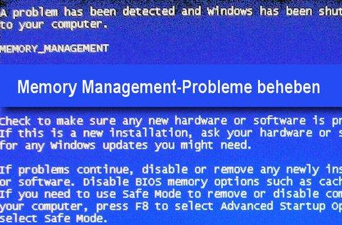 memory management error windows 10 asus