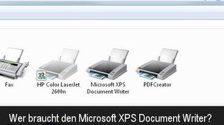 Microsoft XPS Document Writer: Brauche ich den und kann an ihn entfernen?