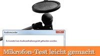 Windows-Mikrofon-Test: So einfach ist das