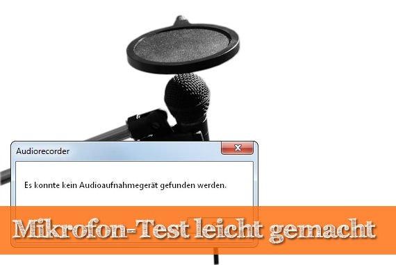 Mikrofon-Test am PC: So einfach ist das