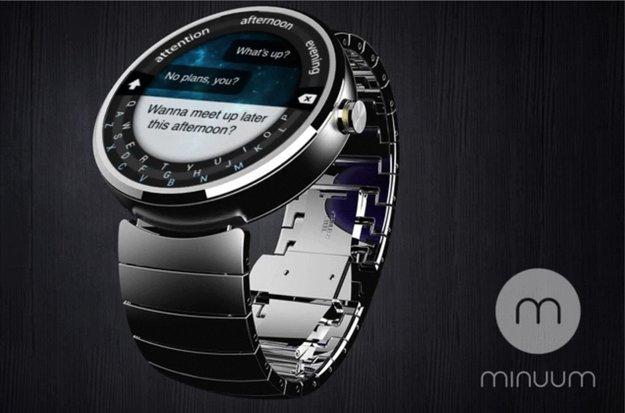 Moto 360: Minuum Keyboard für Android Wear-Smartwatch angekündigt