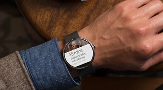 Motorola Moto 360 in freier Wildbahn gesichtet (Video)