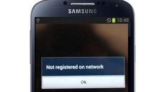 Samsung Galaxy S3 & S4: Nicht im Netz registriert/ Not registered on network