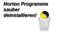 Norton komplett deinstallieren: Automatisch oder manuell