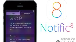 Notific8: iOS 8 Mitteilungszentrale für iOS 7 [Cydia]