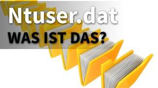 Ntuser.dat: Was ist das und wie bearbeite ich die Datei?
