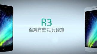 OPPO R3: Dünnstes LTE-Smartphone der Welt vorgestellt