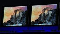 So sieht OS X 10.10 Yosemite aus