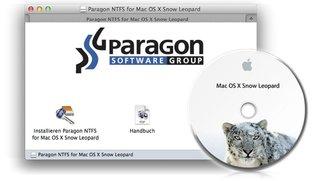 Paragon NTFS für Mac OS X 10.6 Snow Leopard kostenlos