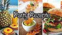 Partyrezepte: Leckeres Essen für viele Gäste