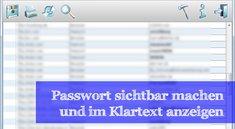 Ein Passwort sichtbar machen - Passwort-Tools
