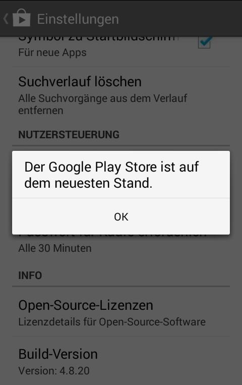 Play Store Geht Nicht