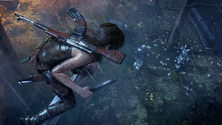 Die Herausforderungen erwarten euch in jedem Gebiet in Rise of the Tomb Raider