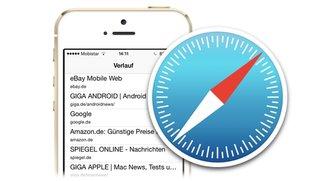 Safari mit iPhone und iPad: Versteckten Verlauf nutzen (Mini-Tipp)