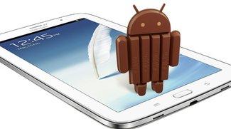 Samsung Galaxy Note 8 erhält Android 4.4.2-Update in Deutschland