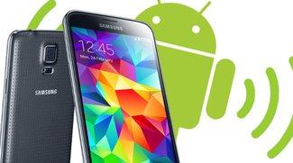 Samsung Galaxy S5: Tethering mit WLAN-Hotspot erzeugen