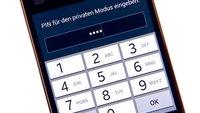 Samsung Galaxy S5: Privaten Modus nutzen und Medien verbergen