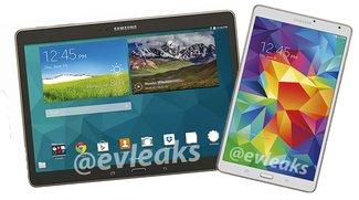 Samsung Galaxy Tab S 8.4 &amp&#x3B; 10.5: Pressebilder zeigen die Oberklasse-Tablets von allen Seiten