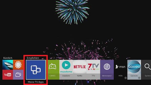 Smart Tv Apps Installation Und Download Neuer Anwendungen
