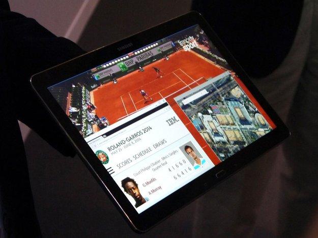 Samsung zeigt 4k-Tablet, Geräte kommen Ende 2014