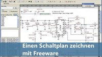 Einen Schaltplan zeichnen mit Freeware - kein Problem!