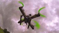 Betthupferl: Der Hubschrauber aus Schokolade