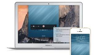 iPhone Screencast: Neue Funktion in iOS 8 und OS X 10.10 Yosemite