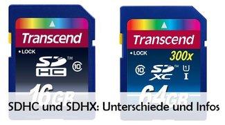 SD, SDHC und SDXC: Unterschiede und Vorteile der Speicherkarten