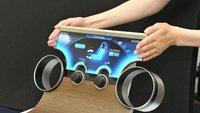 Sharp: Nahezu randlose Displays für beliebige Formen vorgestellt