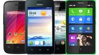 Kauftipps: Smartphones für unter 100 Euro