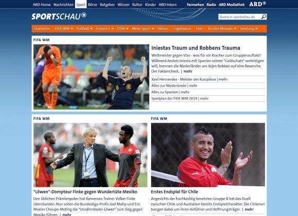 sportschau-Webapp