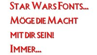 Star Wars Fonts
