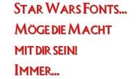 Star Wars Fonts