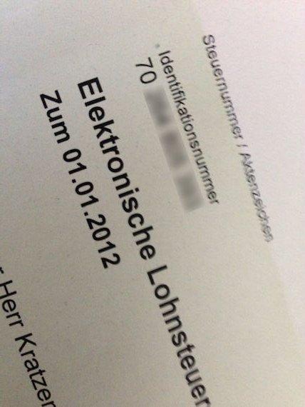 steuernummer herausfinden brief